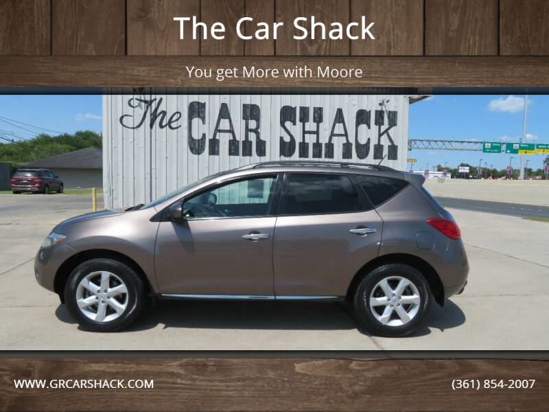 2009 Nissan Murano for sale at The Car Shack in Corpus Christi TX