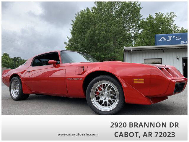 1979 Pontiac Trans Am for sale in Cabot, AR