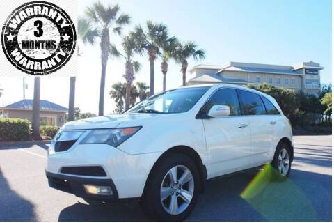 2010 Acura MDX for sale at Gulf Financial Solutions Inc DBA GFS Autos in Panama City Beach FL
