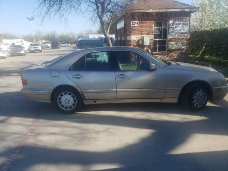 2001 Mercedes-Benz E-Class for sale at El Jasho Motors in Grand Prairie TX