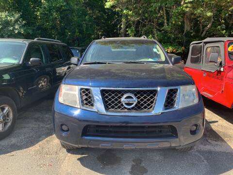 2008 Nissan Pathfinder for sale at Century Motor Cars in West Creek NJ