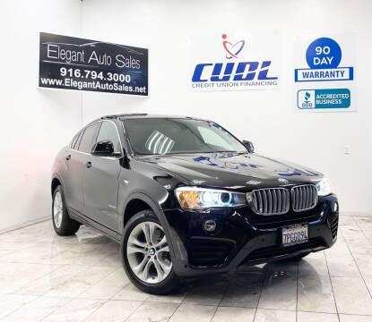 2016 BMW X4 for sale at Elegant Auto Sales in Rancho Cordova CA