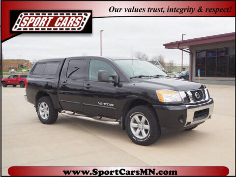 2013 Nissan Titan for sale at SPORT CARS in Norwood MN
