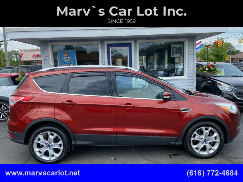 2014 Ford Escape for sale at Marv`s Car Lot Inc. in Zeeland MI