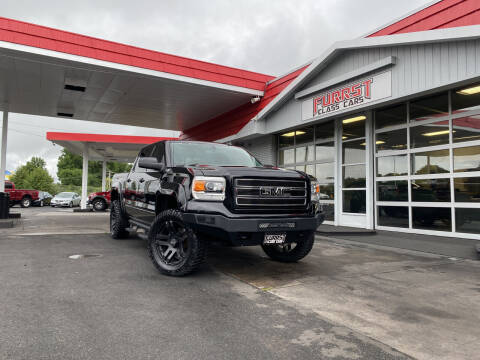 2015 GMC Sierra 1500 for sale at Furrst Class Cars LLC  - Independence Blvd. in Charlotte NC