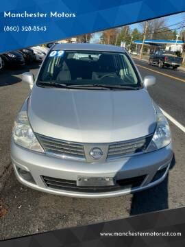2009 Nissan Versa for sale at Manchester Motors in Manchester CT