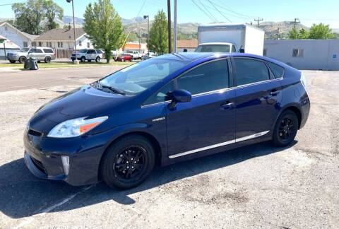 2014 Toyota Prius for sale at University Auto Sales Inc in Pocatello ID