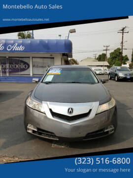 2009 Acura TL for sale at Montebello Auto Sales in Montebello CA