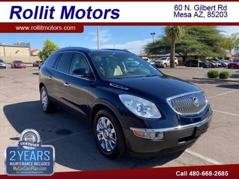 2011 Buick Enclave for sale at Rollit Motors in Mesa AZ