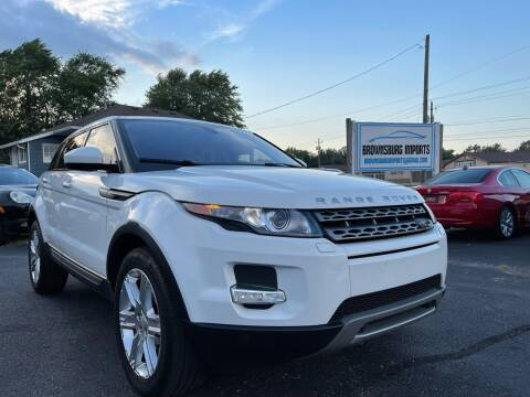 2015 Land Rover Range Rover Evoque for sale at Brownsburg Imports LLC in Indianapolis IN