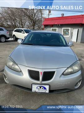 2008 Pontiac Grand Prix for sale at Sphinx Auto Sales LLC in Milwaukee WI