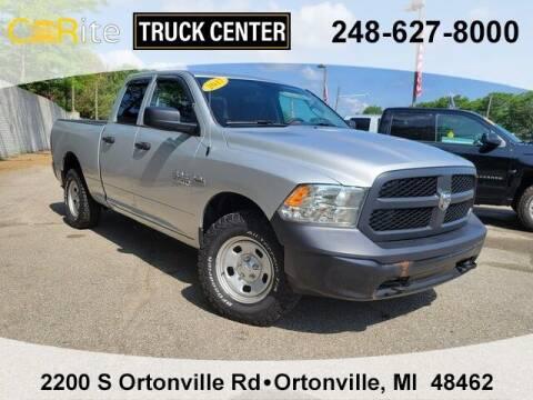 2017 RAM Ram Pickup 1500 for sale at Carite Truck Center in Ortonville MI