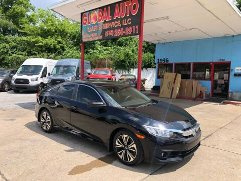 2018 Honda Civic for sale at Global Auto Sales and Service in Nashville TN