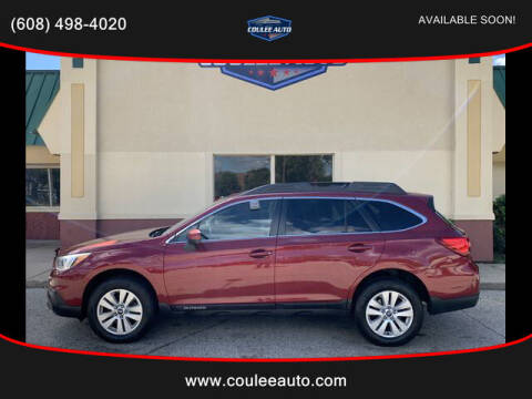 2015 Subaru Outback for sale at Coulee Auto in La Crosse WI