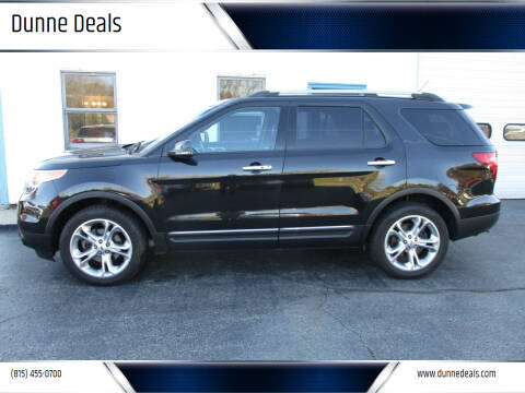 2013 Ford Explorer for sale at Dunne Deals in Crystal Lake IL