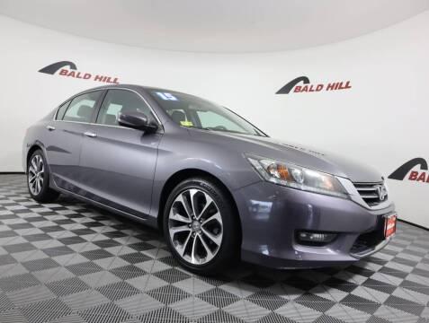 2015 Honda Accord for sale at Bald Hill Kia in Warwick RI