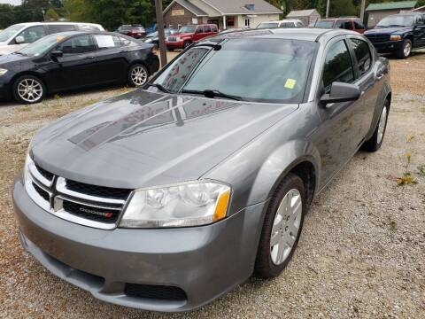 2012 Dodge Avenger for sale at Scarletts Cars in Camden TN