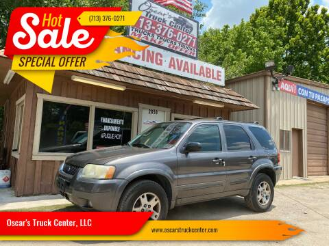 2004 Ford Escape for sale at Oscar's Truck Center, LLC in Houston TX