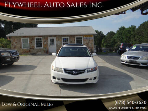 2006 Acura TSX for sale at Flywheel Auto Sales Inc in Woodstock GA
