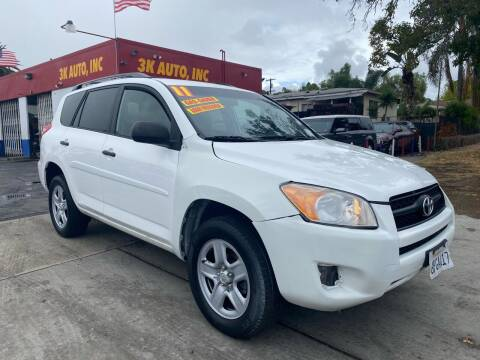 2011 Toyota RAV4 for sale at 3K Auto in Escondido CA