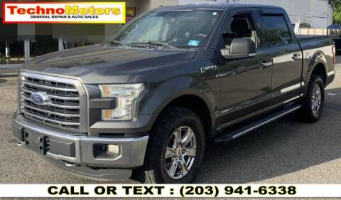 2015 Ford F-150 for sale at Techno Motors in Danbury CT