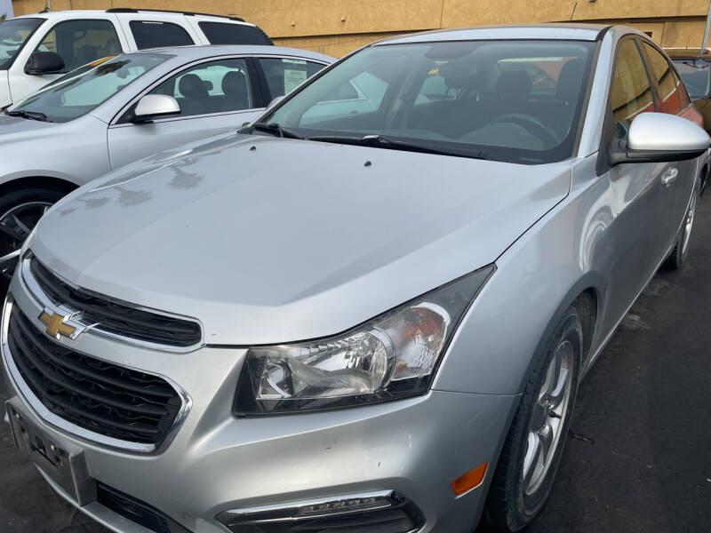 2015 Chevrolet Cruze for sale at CARZ in San Diego CA
