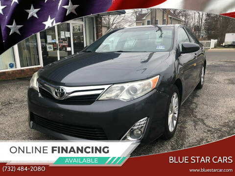 2012 Toyota Camry for sale at Blue Star Cars in Jamesburg NJ