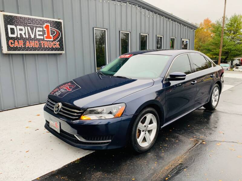 2013 Volkswagen Passat for sale at Drive 1 Car & Truck in Springfield OH