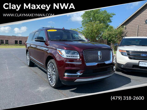 2019 Lincoln Navigator L for sale at Clay Maxey NWA in Springdale AR