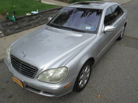 2003 Mercedes-Benz S-Class for sale at Island Classics & Customs in Staten Island NY