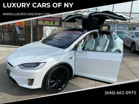 2017 Tesla ModelX  for sale at LUXURY CARS OF NY in Queens NY