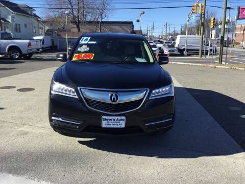 2016 Acura MDX for sale at Steves Auto Sales in Little Ferry NJ