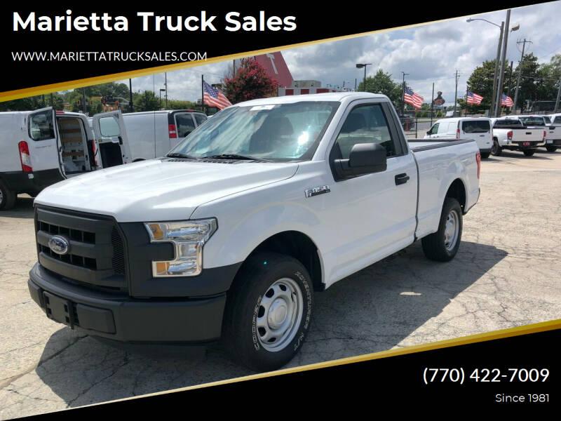 2016 Ford F-150 for sale at Marietta Truck Sales in Marietta GA