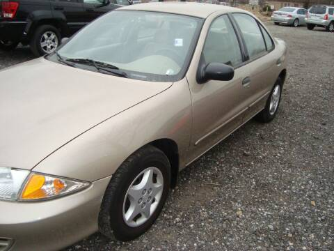 2002 Chevrolet Cavalier for sale at Branch Avenue Auto Auction in Clinton MD