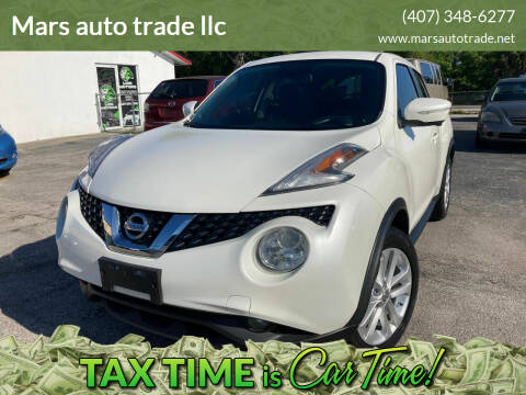 2015 Nissan JUKE for sale at Mars auto trade llc in Kissimmee FL