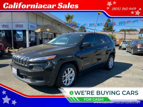 2014 Jeep Cherokee for sale at Californiacar Sales in Santa Maria CA