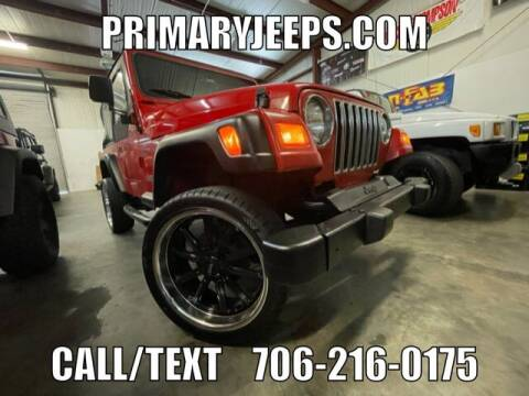 1998 Jeep Wrangler for sale at Primary Auto Group in Dawsonville GA