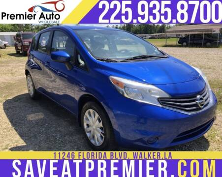 2015 Nissan Versa Note for sale at Premier Auto Wholesale in Baton Rouge LA