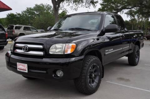 2004 Toyota Tundra for sale at STEPANEK'S AUTO SALES & SERVICE INC. in Vero Beach FL