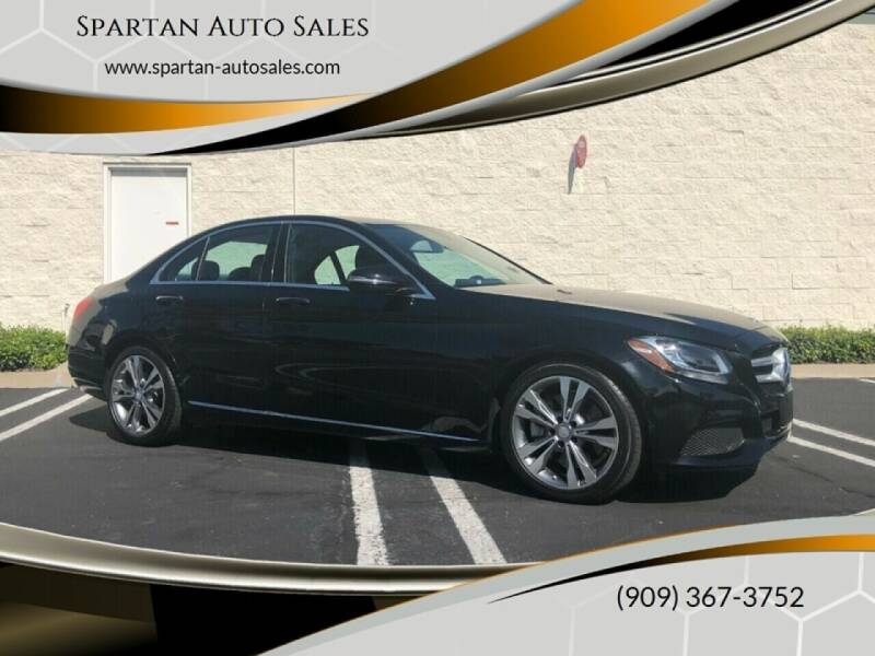2016 Mercedes-Benz C-Class for sale at Spartan Auto Sales in Upland CA