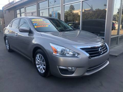2015 Nissan Altima for sale at Devine Auto Sales in Modesto CA