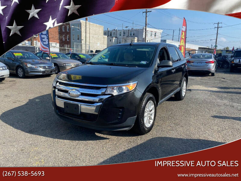 2013 Ford Edge for sale at Impressive Auto Sales in Philadelphia PA