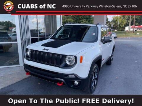 2021 Jeep Renegade for sale at Credit Union Auto Buying Service in Winston Salem NC