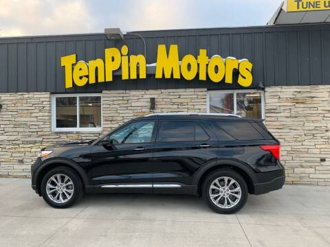 2020 Ford Explorer for sale at TenPin Motors LLC in Fort Atkinson WI