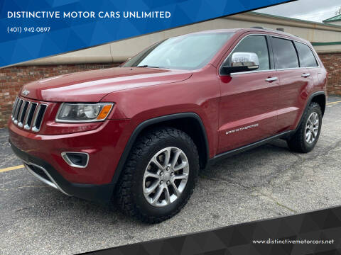 2014 Jeep Grand Cherokee for sale at DISTINCTIVE MOTOR CARS UNLIMITED in Johnston RI