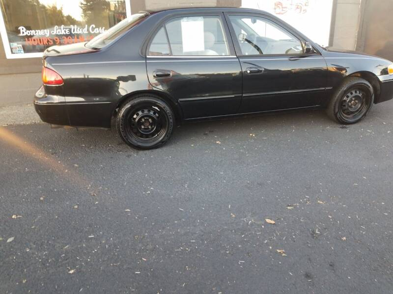 2001 Toyota Corolla for sale at Bonney Lake Used Cars in Puyallup WA