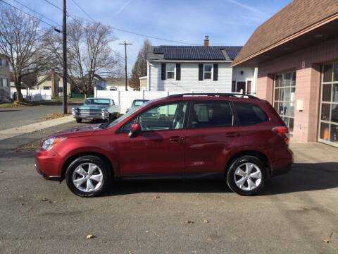 2014 Subaru Forester for sale at Pat's Auto Sales, Inc. in West Springfield MA