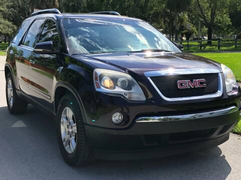 2009 GMC Acadia for sale at HIGH PERFORMANCE MOTORS in Hollywood FL