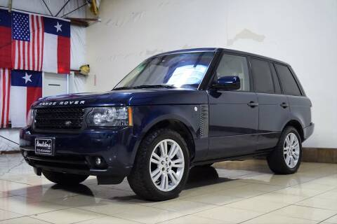 2011 Land Rover Range Rover for sale at ROADSTERS AUTO in Houston TX