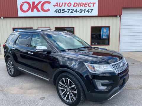 2016 Ford Explorer for sale at OKC Auto Direct in Oklahoma City OK
